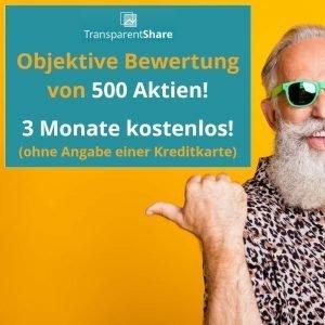 TransparentShare - Angebot Premium